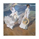 Strolling Along the Seashore Giclée-Druck von Joaquín Sorolla y Bastida
