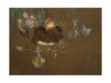 At the Table of Monsieur and Madame Natanson Lámina giclée por Henri de Toulouse-Lautrec