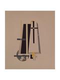 Coffin-Makers, 1920-1921 Reproduction procédé giclée par El Lissitzky