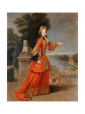 Marie Adélaïde of Savoy (1685-171) Giclee Print by Pierre Gobert