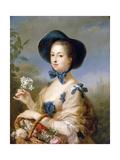 Jeanne-Antoinette Poisson, Marquise De Pompadour (Belle Jardinier) Giclee Print by Carle van Loo