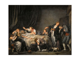 The Father's Curse: the Son Punished Giclee Print by Jean-Baptiste Greuze