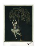 Tamara Karsavina in the Ballet the Firebird Giclée-tryk af George Barbier