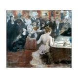The Salon of Princess Mathilde Giclee Print by Giuseppe De Nittis