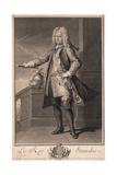Stanislaw I Leszczynski (1677-176), King of Poland, 1705 Giclée-Druck von Jean Baptiste Van Loo