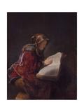 Anna the Prophetess, 1631 Giclée-tryk af  Rembrandt van Rijn
