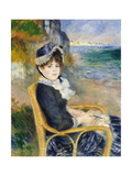 By the Seashore Giclée-tryk af Pierre-Auguste Renoir