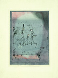 Twittering Machine Giclée-tryk af Paul Klee
