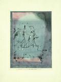 Twittering Machine Giclee-trykk av Paul Klee