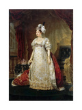 Marie Thérèse Charlotte of France, Called Madame Royale (1778-185) Giclee Print by Antoine-Jean Gros