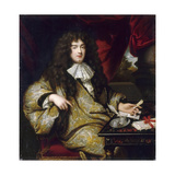 Jean-Baptiste Colbert, Marquis De Seignelay (1651-169) Giclee Print by Jean-Marc Nattier