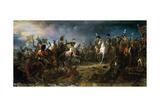 The Battle of Austerlitz on December 2, 1805 Giclée-Druck von François Pascal Simon Gérard
