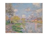 Spring on the Seine Giclée-Druck von Claude Monet