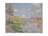 Spring on the Seine Impressão giclée por Claude Monet