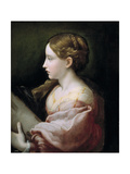 Saint Barbara Giclee Print by  Parmigianino