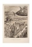 Illustration for Le Vingtième Siècle: La Vie Électrique Giclee Print by Albert Robida