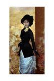 Portrait de femme Reproduction procédé giclée par Giuseppe De Nittis