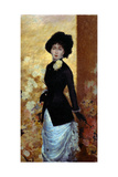Portrait of a Woman Giclee Print by Giuseppe De Nittis