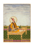 Portrait of Nader Shah Giclée-tryk