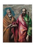 Saint Peter and Saint Paul Lámina giclée por  El Greco