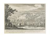 The Battle of Poltava on 27 June 1709 Giclee Print by Nicolas de Larmessin