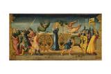 The Martyrdom of Saint Catherine Giclée-tryk af Neri Di Bicci