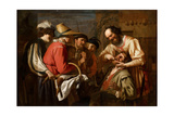 The Tooth Puller Giclee Print by Gerrit van Honthorst