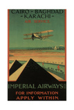 Imperial Airways, 1926 Giclee Print by Charles C. Dickson