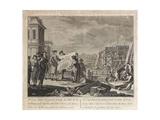 Peter the Great Founding Saint Petersburg Giclee Print by Pietro Antonio Novelli