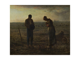 The Angelus, Between 1857 and 1859 Giclee Print by Jean-François Millet