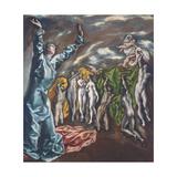 The Vision of Saint John Giclée-vedos tekijänä  El Greco