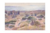 The Beach of Vignasse Giclee Print by Henri Edmond Cross