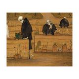 The Garden of Death Giclée-tryk af Hugo Simberg