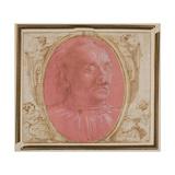 Head of an Old Man Giclée-tryk af Domenico Ghirlandaio