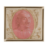 Head of an Old Man Giclee Print by Domenico Ghirlandaio