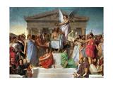 L'Apothéose d'Homère Reproduction procédé giclée par Jean-Auguste-Dominique Ingres