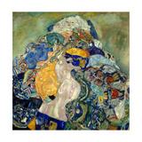 Baby (Cradl) Impressão giclée por Gustav Klimt