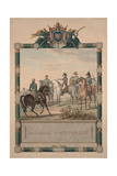 The Battle of Austerlitz on December 2, 1805, 1805 Giclée-Druck von Antoine Charles Horace Vernet