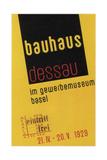 Bauhaus, 1929 Giclée-Druck