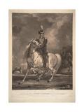 Portrait of Count Matvei Ivanovich Platov (1757-181), 1815 Giclee Print by Thomas Phillips