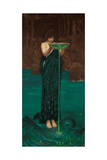 Circe Invidiosa, 1892 Giclée-tryk af John William Waterhouse