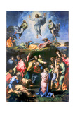 The Transfiguration of Christ Reproduction procédé giclée par  Raphael