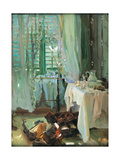 The Hotel Room Giclee Print by John Singer Sargent