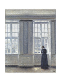 The Tall Windows Giclée-tryk af Vilhelm Hammershoi
