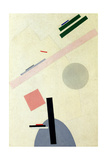 Suprematist Composition Reproduction procédé giclée par Kasimir Severinovich Malevich