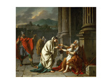 Belisarius Begging for Alms Giclee Print by Jacques Louis David