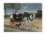 Old Junier's Cart Giclee-trykk av Henri Rousseau