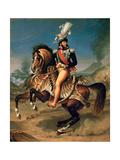 Equestrian Portrait of Joachim Murat (1767-181) Giclee Print by Antoine-Jean Gros