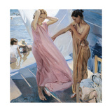 After the Bath Giclee Print by Joaquín Sorolla y Bastida