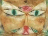 Cat and Bird Reproduction procédé giclée par Paul Klee
